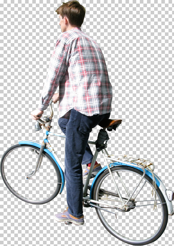 Bicycle PhotoScape Cycling, sitting man PNG clipart.