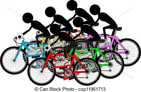 Cyclists Vector Clip Art Royalty Free. 7,079 Cyclists clipart.