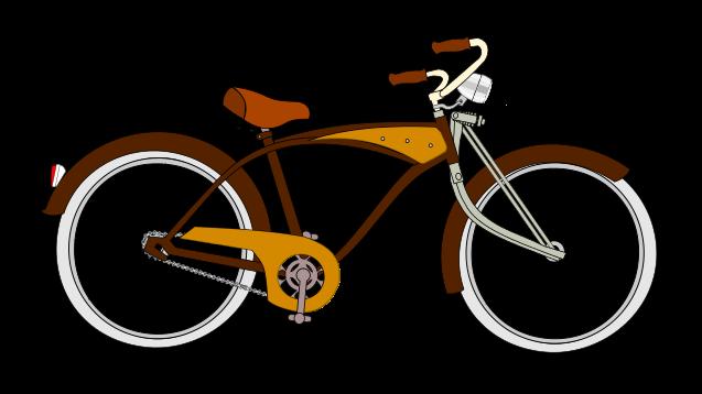 Vintage Bicycle Clipart.