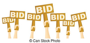 Bid Illustrations and Stock Art. 3,049 Bid illustration and vector.