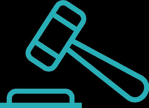 Bid Icon Free of Minimal Business Line Icons.