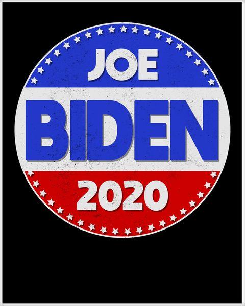 Joe Biden 2020 Emblem Poster.