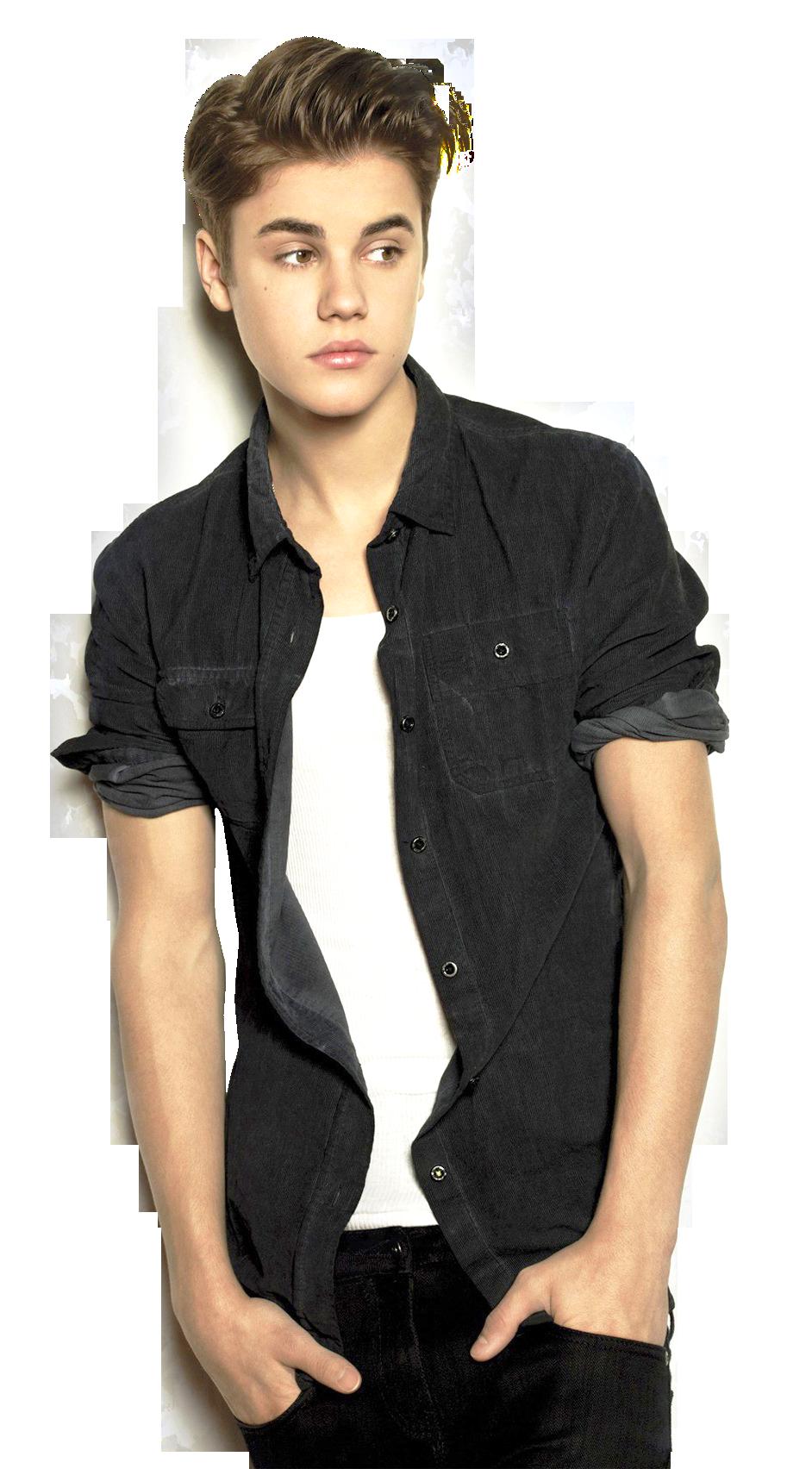 A Famous Singer Justin Bieber PNG Image.