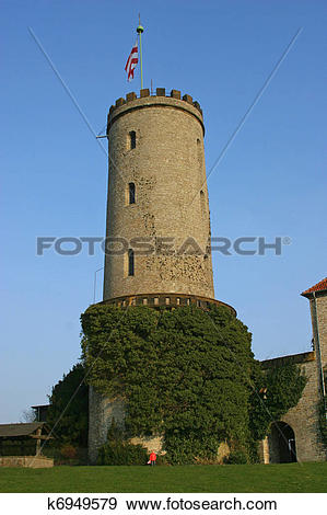 Stock Photograph of Sparrenburg in Bielefeld k6949579.
