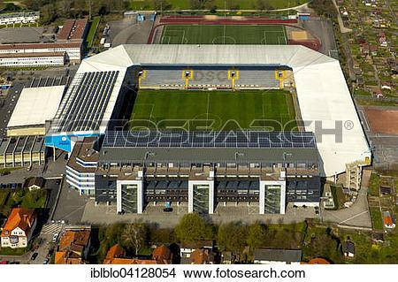 Stock Photo of SchucoArena, Bielefeld, North Rhine.