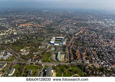 Stock Image of SchucoArena, Bielefeld, North Rhine.