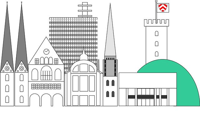 Free illustration: City, Skyline, Bielefeld, Panorama.