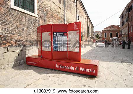 Stock Photograph of La Biennale di Venezia (Venice Biennale.