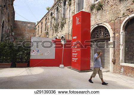 Stock Images of La Biennale di Venezia (Venice Biennale) u29139336.