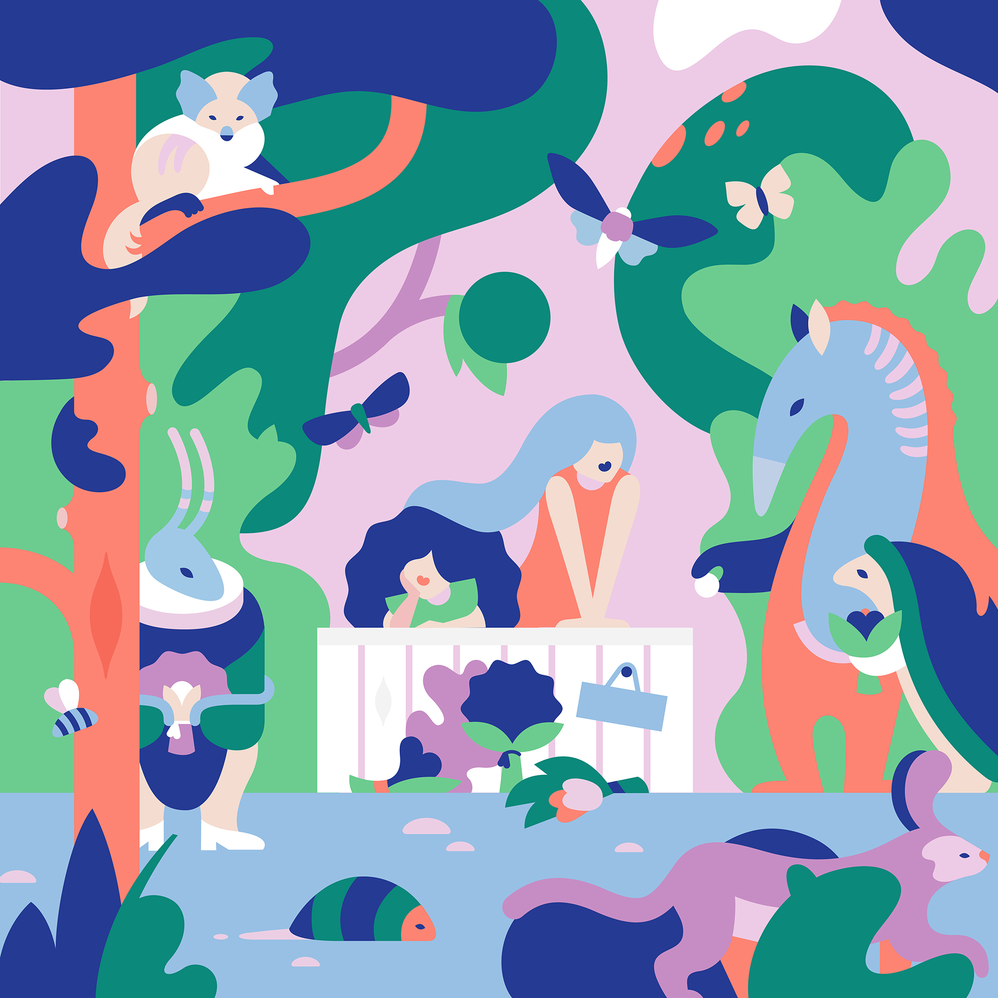 China Illustration Biennale by Janine Rewell.