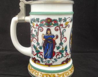 German beer mug.