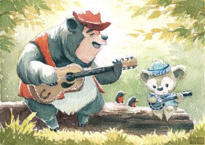 country bears.