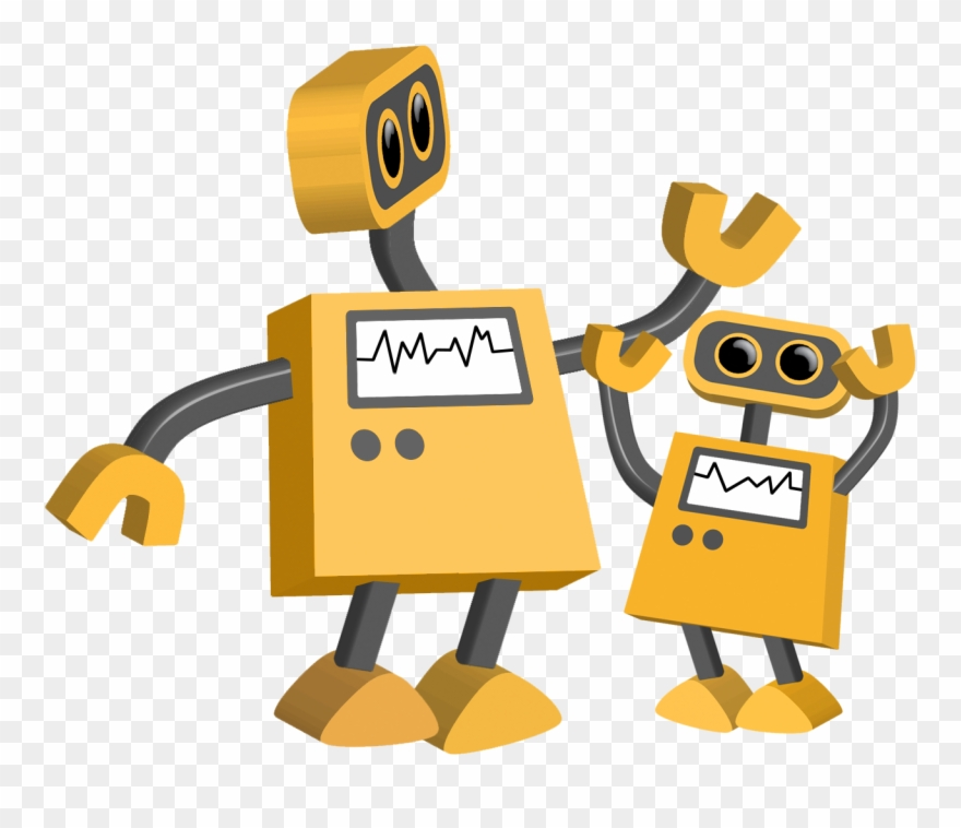 Big And Little Robots.
