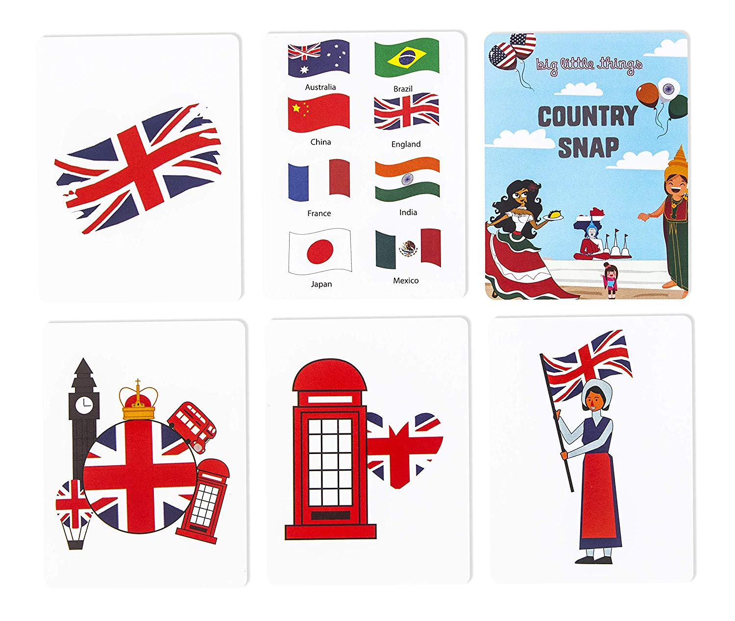 Buy Country Snap Card Game by Big Little Things Online at.