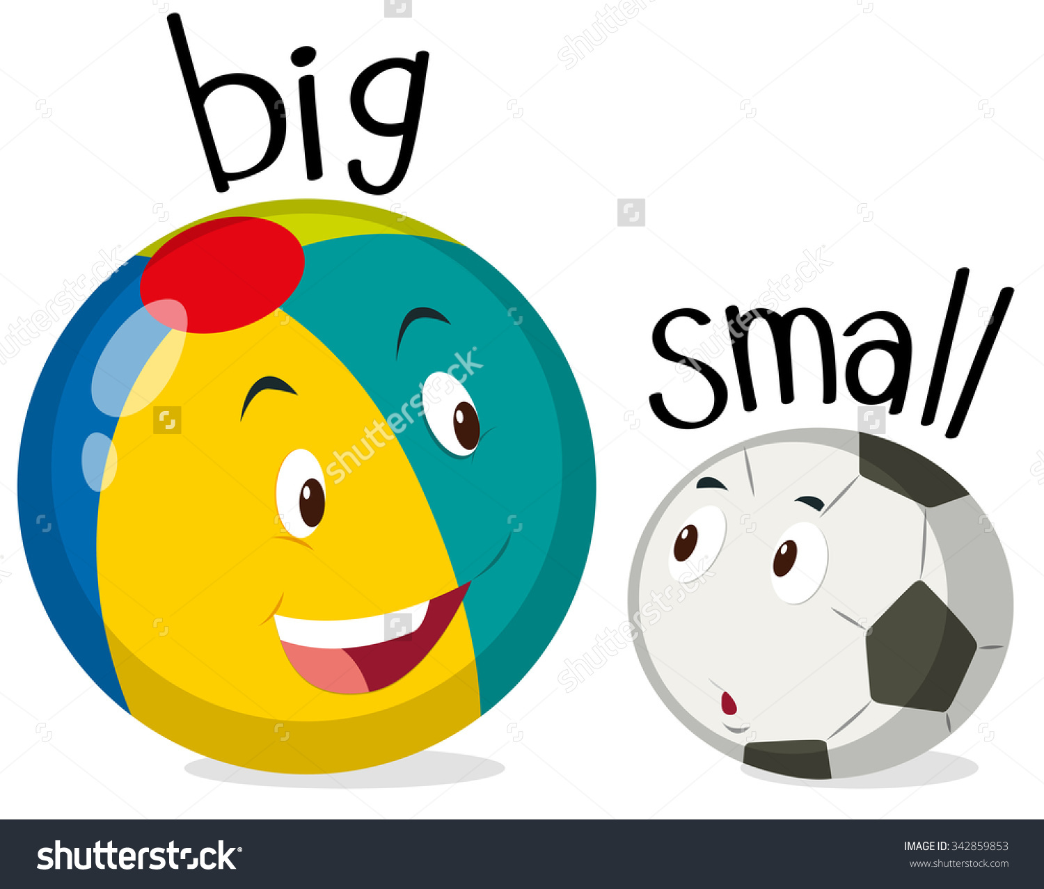 Big and small clipart - Clipground