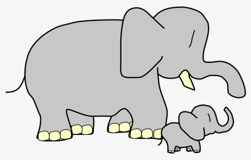 Free Elephant Clip Art with No Background.
