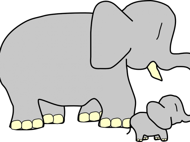 Larger Clipart Mother Baby Animal.