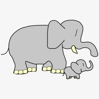 Elephants Clipart Name.