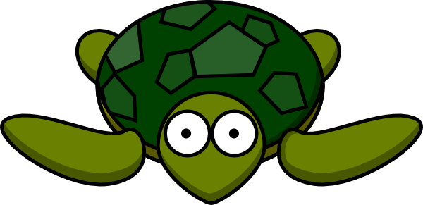 Turtle With Big Eyes Clip Art at Clker.com.