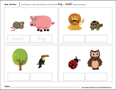 big and small objects clipart 10 free Cliparts | Download ...