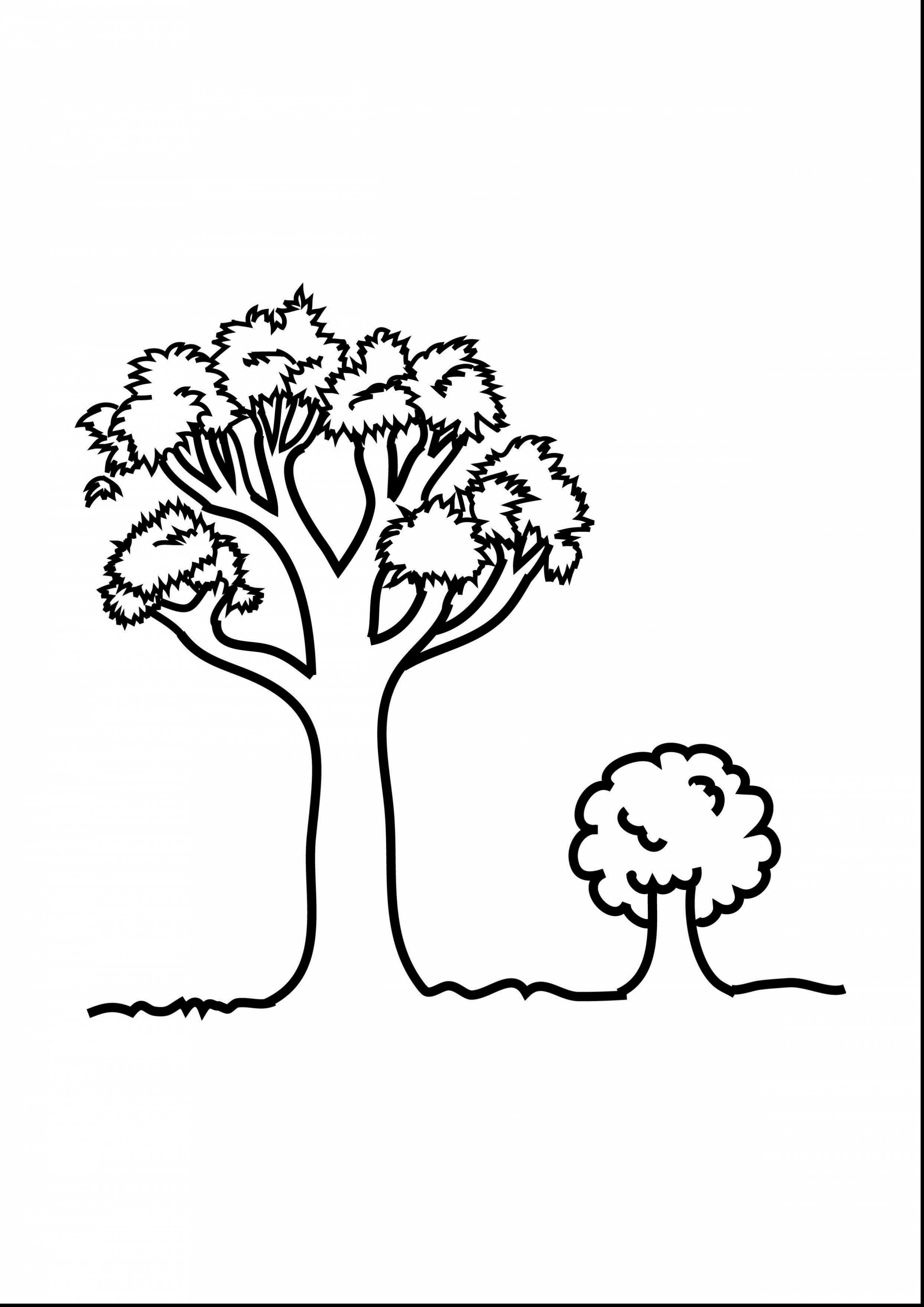 Big Tree Clipart Black And White.