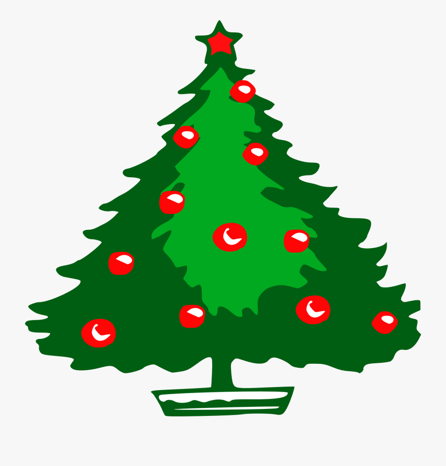 Small Christmas Tree Clipart.