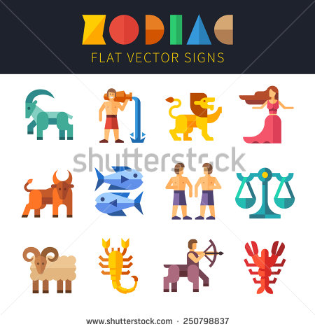 Zodiac Symbols Stock Photos, Royalty.
