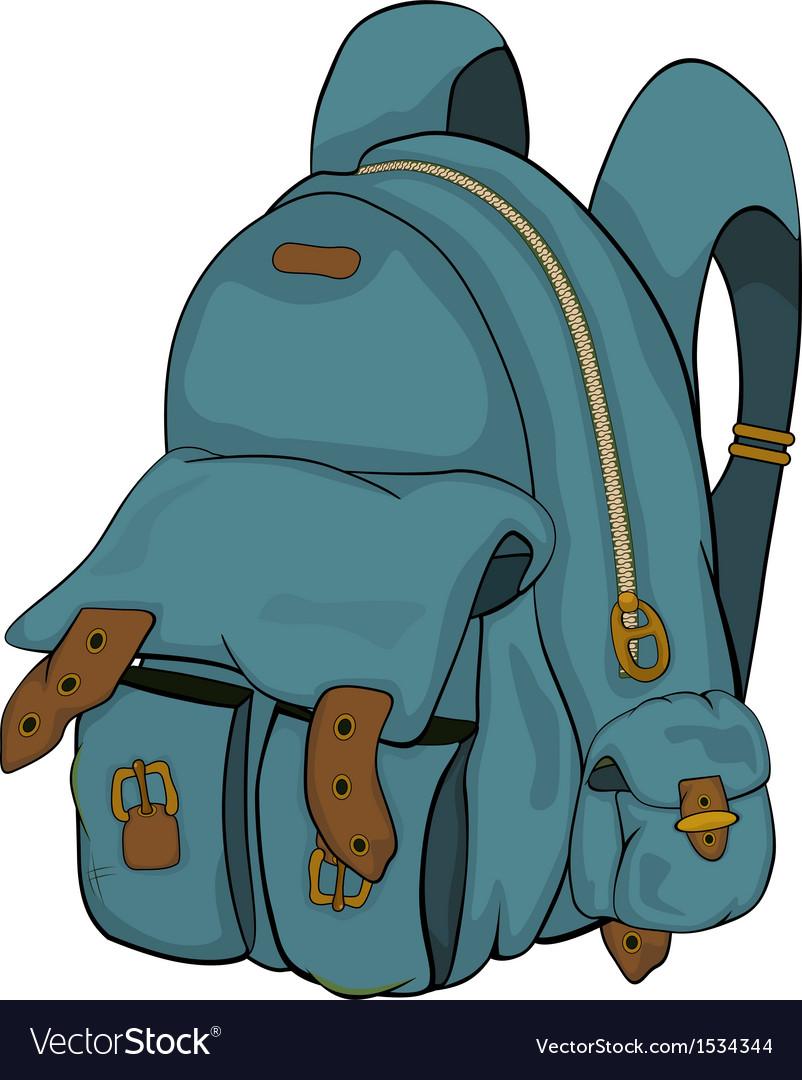 School backpack Cartoon.