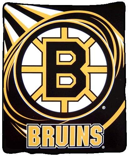 Amazon.com : Boston Bruins Plush Blanket : Sports Fan Throw.