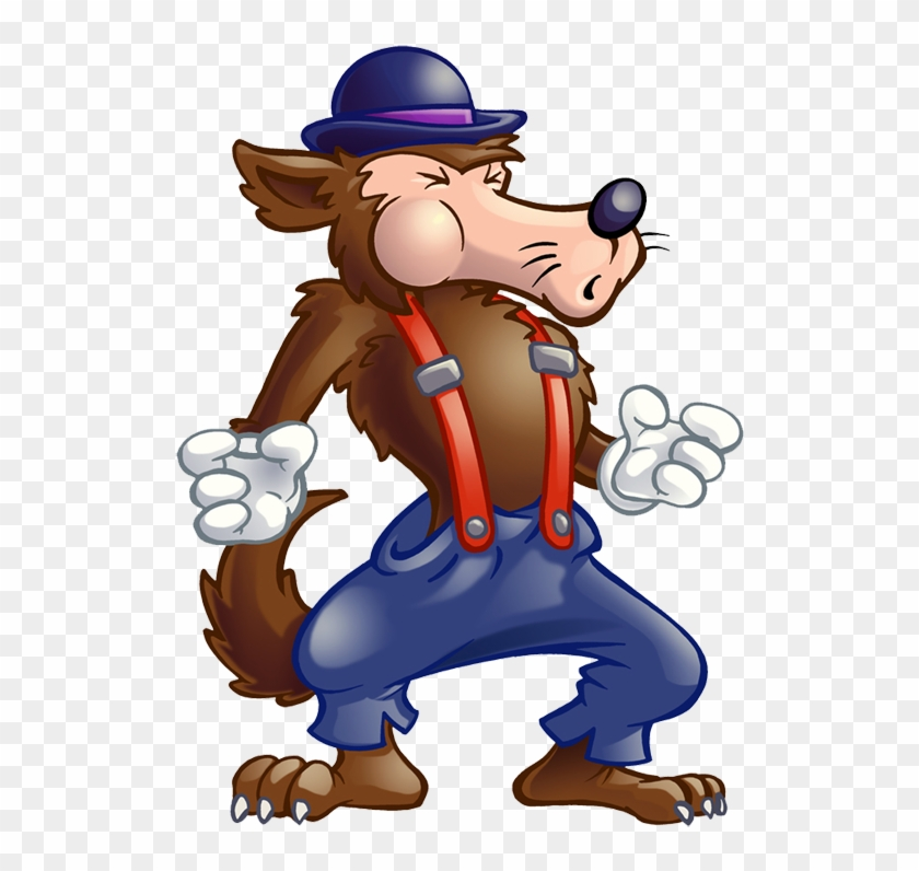 Big Bad Wolf Clipart, HD Png Download.