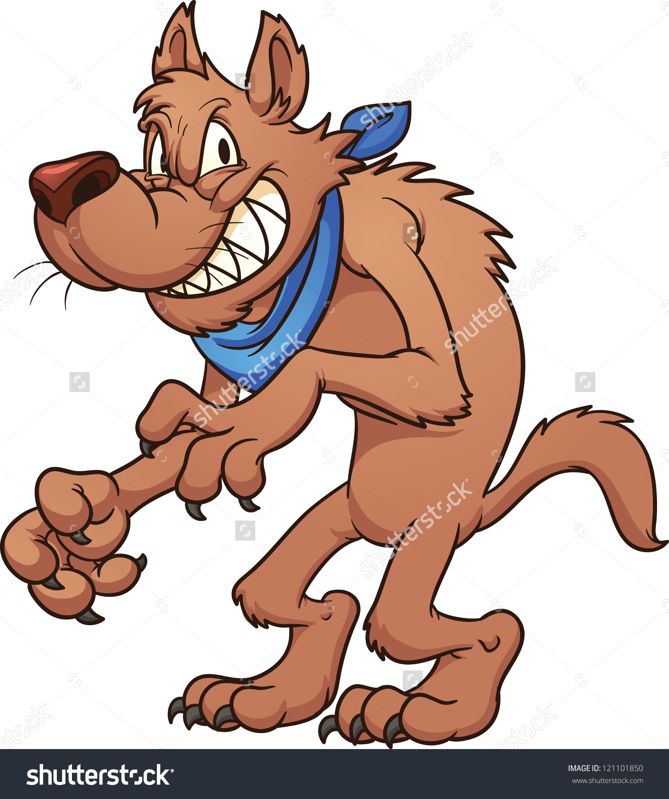 54+ Big Bad Wolf Clipart.