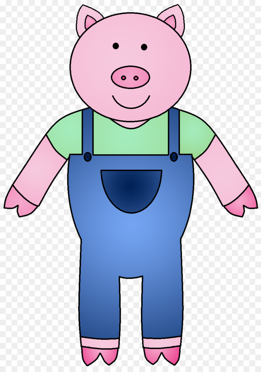 Piglet Big Bad Wolf The Three Little Pigs Clip art.