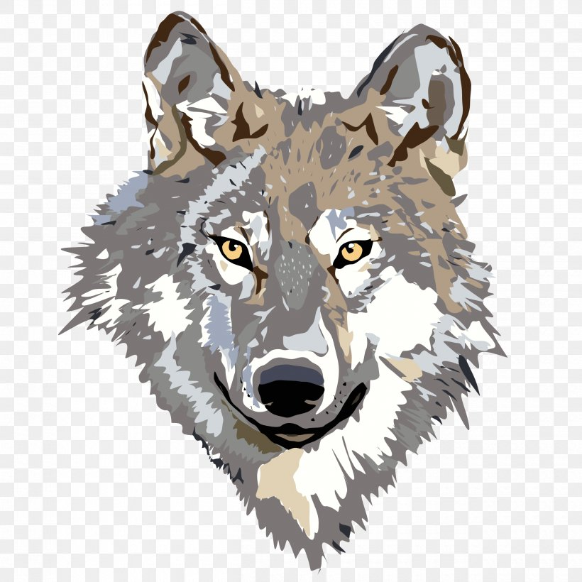 Big Bad Wolf Little Red Riding Hood Arctic Wolf Clip Art.