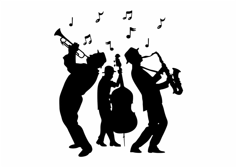 jazz band clip art clipart Jazz band Big band Clip arttransparent.