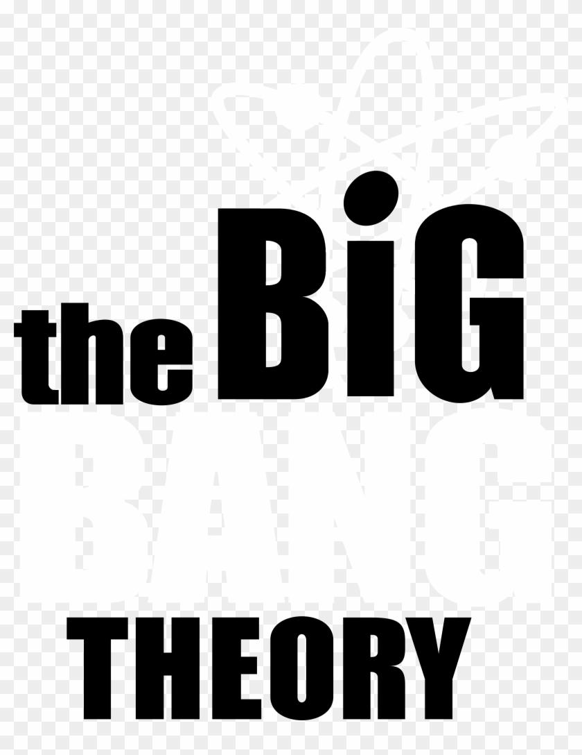 The Big Bang Theory Logo Black And White.