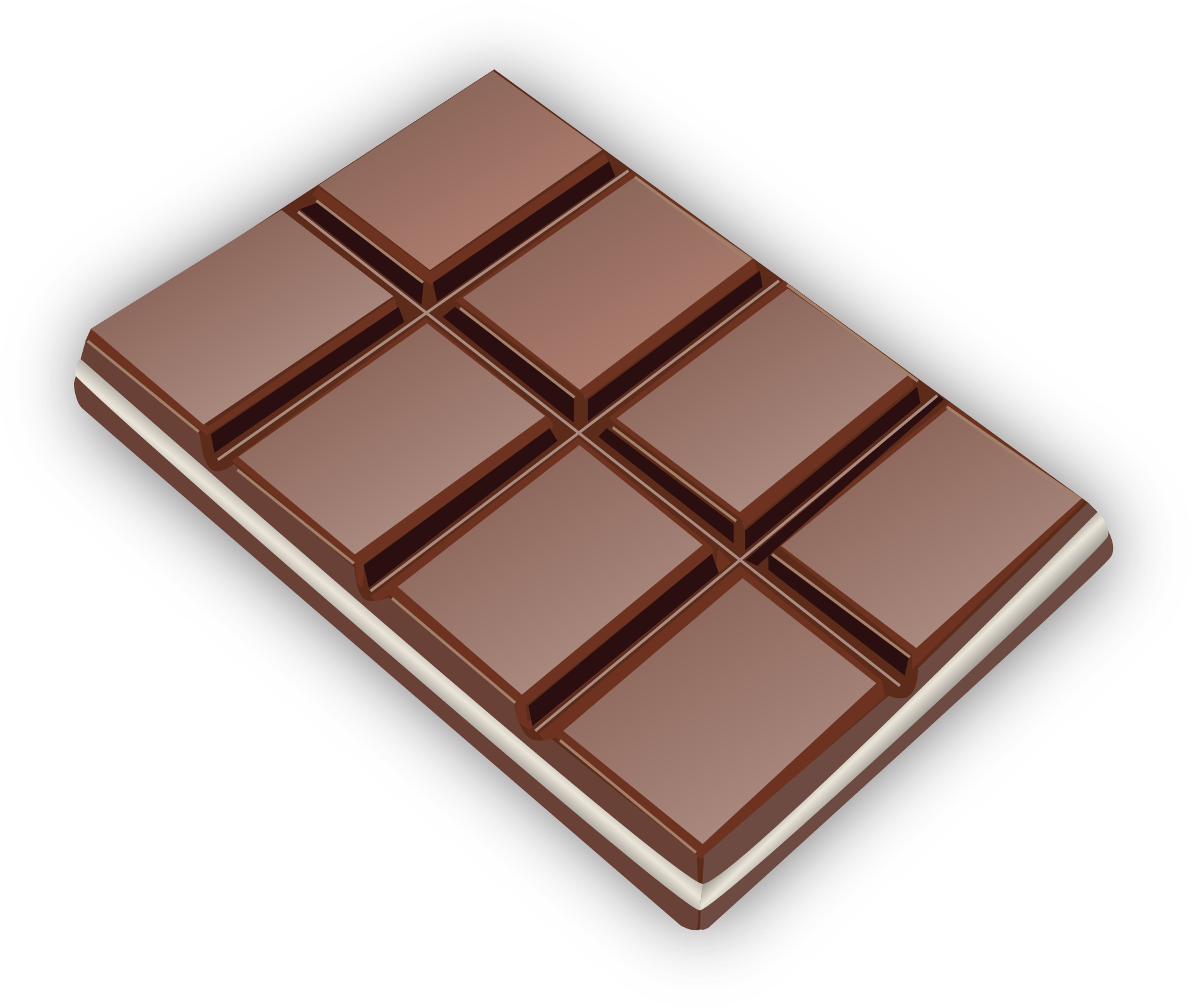 Clipart chocolate bar.