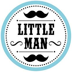Little man big bar bell clipart.