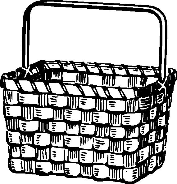 Picnic Basket Clipart Big Basket Coat Of Arms.