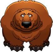 Big Bear Clip Art.
