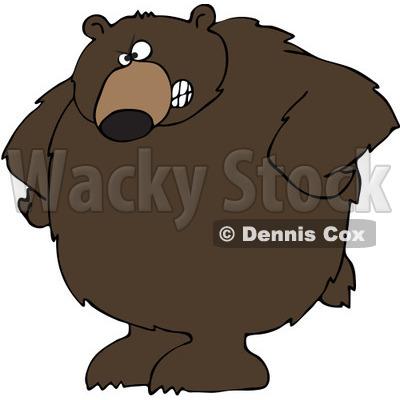 Bear Clipart by Dennis Cox.