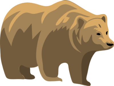 Free Bear Clipart, 2 pages of Public Domain Clip Art.