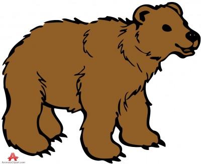 Big bear clipart.