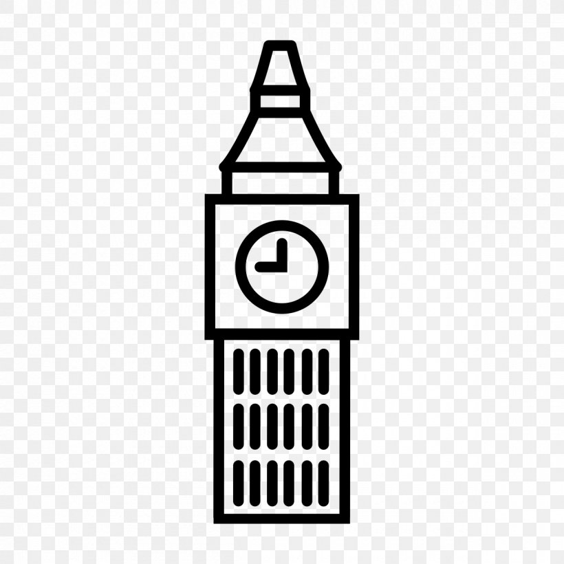 Big Ben Clock Tower, PNG, 1200x1200px, Big Ben, Area, Black.