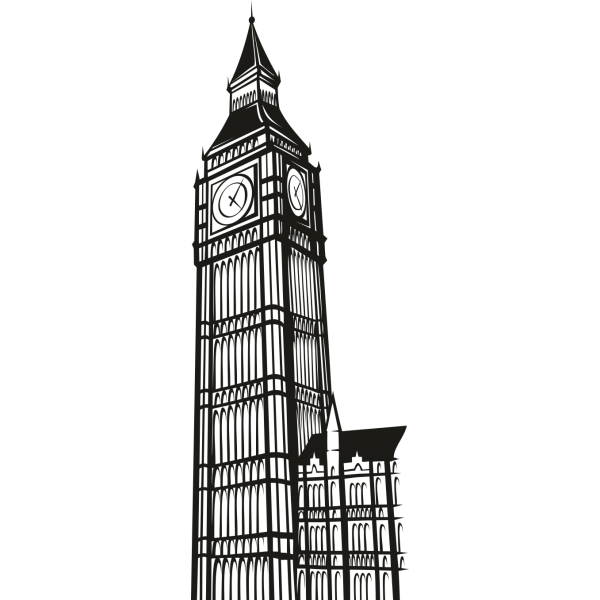 Free Big Ben Clipart Black And White, Download Free Clip Art.