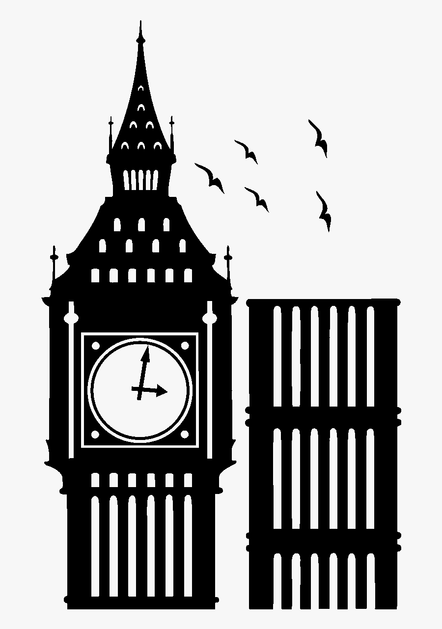 Big Ben Clipart Black And White.