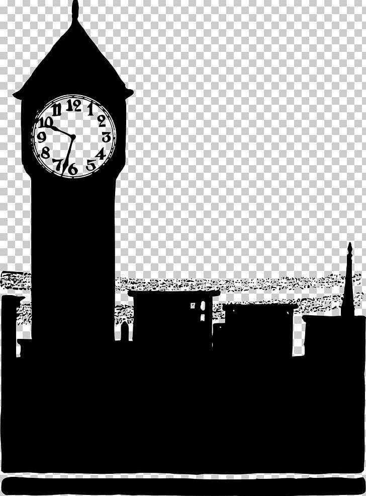 Big Ben Silhouette PNG, Clipart, Big Ben, Black And White, Clip Art.