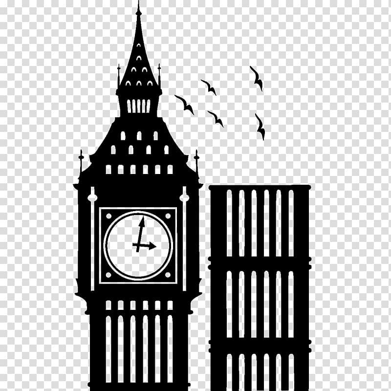 Big Ben AEC Routemaster Clock tower , big ben transparent background.
