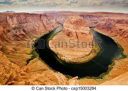 Pictures of Big Bend, Colorado River, Arizona csp15003284.