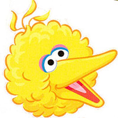 Sesame street big bird clipart.