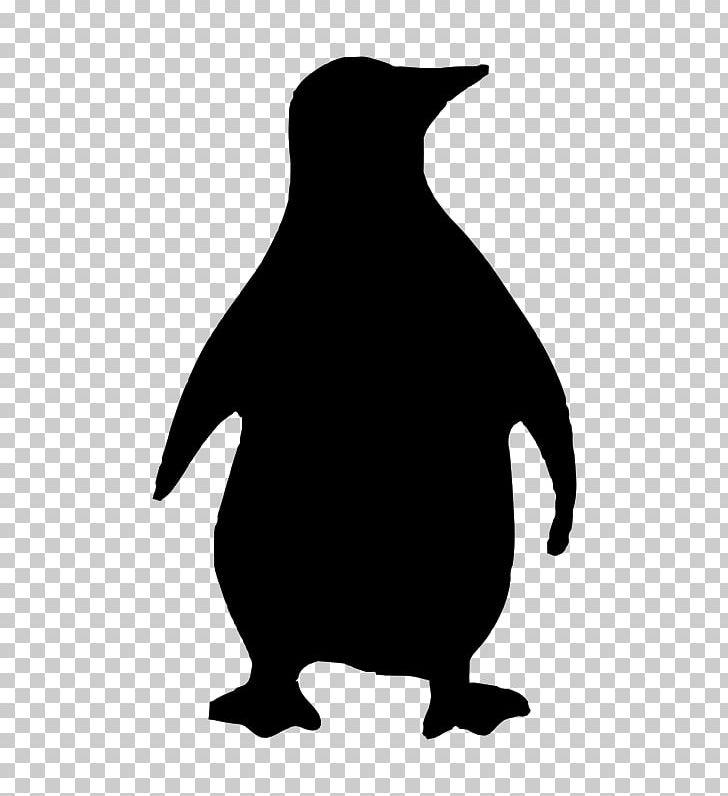 Penguin Bird Silhouette PNG, Clipart, Animals, Beak, Big, Bird.